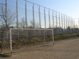 mallas metalicas campos de futbol