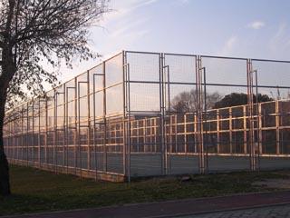 vallas metalicas canchas de tenis - Cercas Metalicas